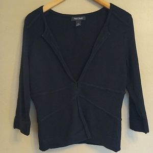 White House Black Market Black Cardigan S